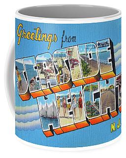Seaside Heights Greetings Coffee Mug