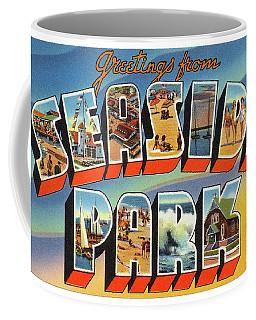 Seaside Park Greetings Coffee Mug