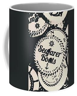 Seaside Sailors Badge Coffee Mug