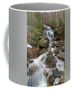 Seasonal Waterfall - Franconia Notch, New Hampshire Coffee Mug