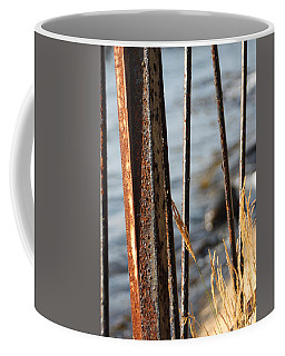 Seaview Through The Fence Coffee Mug