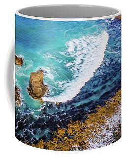 Roaring Bay At Nugget Point Coffee Mug