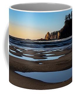 Coffee Mug featuring the photograph Second Beach by Ed Clark