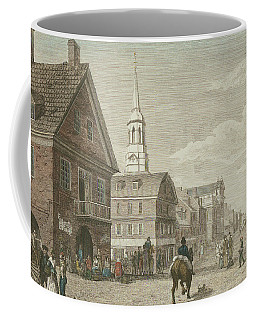 Second Street North From Market St. And Christ Church Coffee Mug