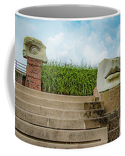 Coffee Mug featuring the photograph See No Evil Speak No Evil by Lora J Wilson