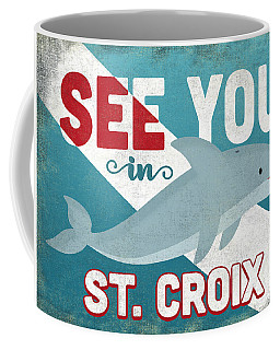See You In St Croix Dolphin Coffee Mug