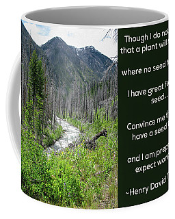 Seeds Of Success - Nature Art By Omaste Witkowski Coffee Mug