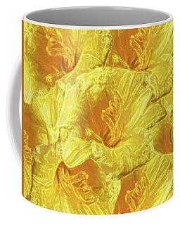 Coffee Mug featuring the photograph Selective Yellow Lilies by Rockin Docks