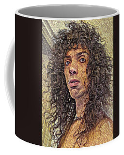 Self Portrait - The Shawn Mosaic - 80s Glam Rock Coffee Mug