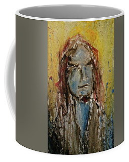 Coffee Mug featuring the painting Selfie by Blake Emory