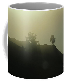 Coffee Mug featuring the photograph Sentinels by Ann E Robson