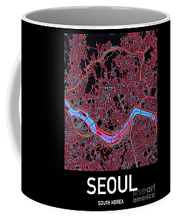 Seoul City Map Coffee Mug