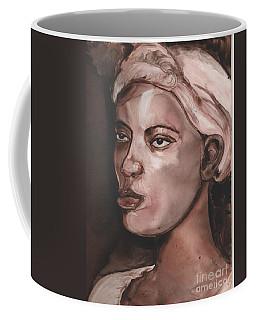 Sepia Woman Coffee Mug