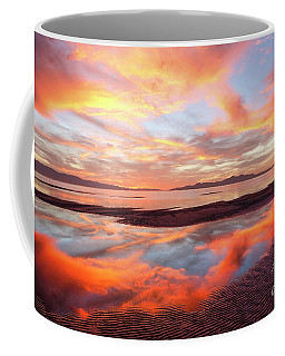 Coffee Mug featuring the photograph September Sunset by Spencer Baugh
