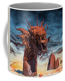 Coffee Mug featuring the photograph Serpent by Mary Hone