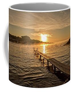 Sespanyol Beach In Ibiza At Sunrise, Balearic Islands Coffee Mug