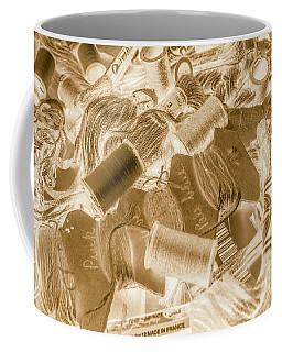 Sewn In Sepia Coffee Mug