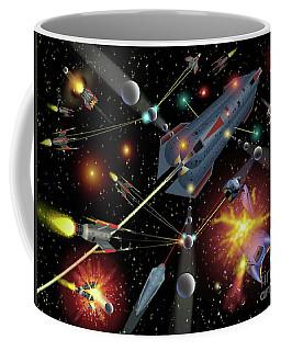 Sferogyls Space Battle Group Coffee Mug