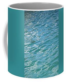 Shades Of Tropical Blue Water Coffee Mug
