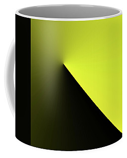 Coffee Mug featuring the digital art Shades Of Yellow In Rotational Gradient by Bill Swartwout Fine Art Photography