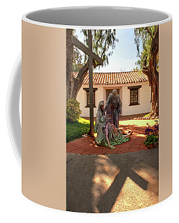 Coffee Mug featuring the photograph Shadow Of The Cross by Howard Bagley
