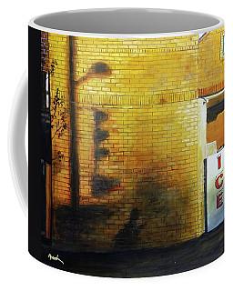 Shadows On The Wall Coffee Mug