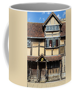 Shakespeares Birthplace And Actress Coffee Mug
