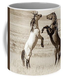 Coffee Mug featuring the photograph Shall We by Mary Hone