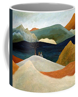 Us Two With A View Coffee Mug