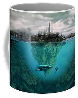 Shark Island Coffee Mug