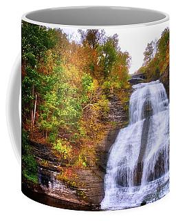 Coffee Mug featuring the photograph She-qua-ga - Montour Falls - Finger Lakes, New York by Lynn Bauer