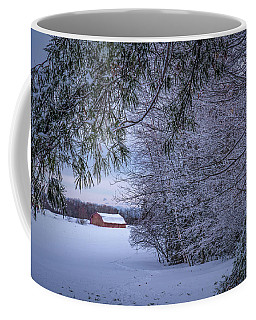 Shed At Sunset Coffee Mug
