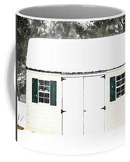 Shed Covered By Heavy Snow 1 Coffee Mug