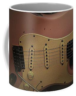 Shelly Pink Guitar Coffee Mug