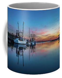 Shem Creek Blue Hour, Mt. Pleasant Sc Coffee Mug