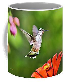 Shimmering Breeze Hummingbird Coffee Mug