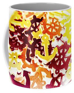 Ship Shapes And Ocean Ornaments Coffee Mug