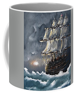 Ship Voyage Coffee Mug
