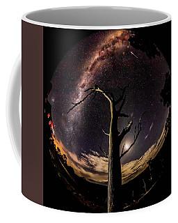 Shooting Stars And Milky Way Coffee Mug