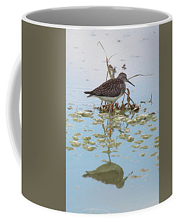 Shorebird Reflection Coffee Mug