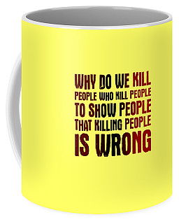 Showing People Coffee Mug