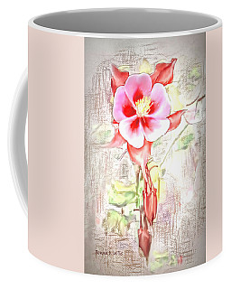 Showy Aqualigia Flower Coffee Mug