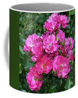 Shrub Rose Stylized Coffee Mug
