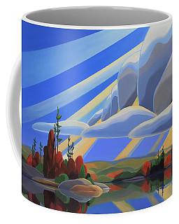 Silent Arrival Coffee Mug