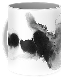 Silent - Abstract Ink Painting Coffee Mug