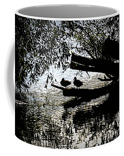 Silhouette Ducks #h9 Coffee Mug