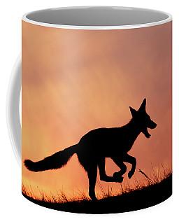 Silhouette Series - Happy Fox Coffee Mug