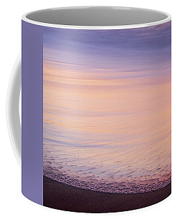 Coffee Mug featuring the photograph Silky Sea by Whitney Goodey