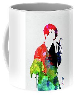 Simply Red Watercolor Coffee Mug