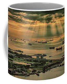 Singapore Harbour Coffee Mug